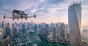 Dubai introducing the Flying Drone Taxis - This Summer