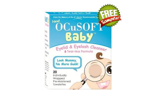 FREE Ocusoft Baby Eyelid & Eyelash Cleanser Sample, FREE Sample of Ocusoft Baby Eyelid & Eyelash Cleanser, Ocusoft Baby Eyelid & Eyelash Cleanser FREE Sample, Ocusoft Baby Eyelid & Eyelash Cleanser