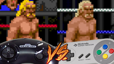 Mega Drive Vs SNES - WWF Super Wrestlemania