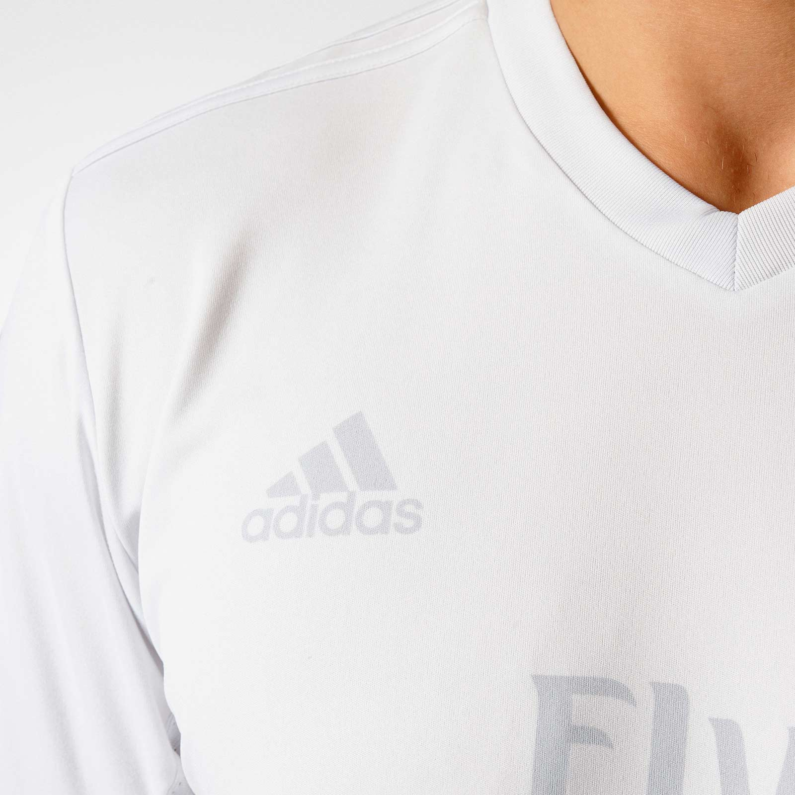 91ee8d4bb7000 The shorts and socks of the Parley Real Madrid kit are entirely white and  don t feature any logos. Unlike the Parley Real Madrid shirt