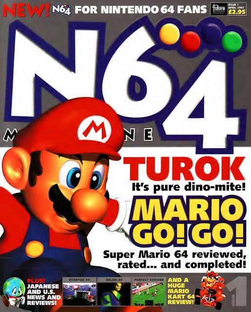N64 Magazine Issue Nº001 - (1997)