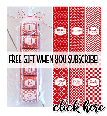 FREE GIFT: SUBSCRIBE TO MY EMAILS!
