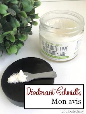 déodorant Schmidt's bergamote citron vert pinterest