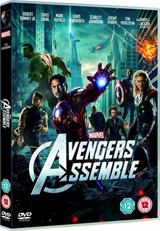 The Avengers DVDR NTSC Full Español Latino 2012