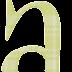 Abecedario Verde a Cuadros. Green Checkered Alphabet.