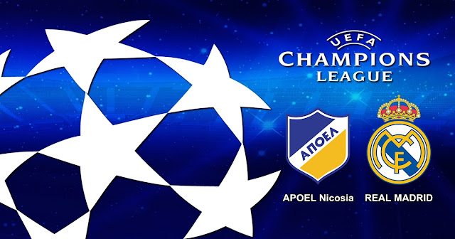 Prediksi APOEL Nicosia vs Real Madrid 22 November 2017