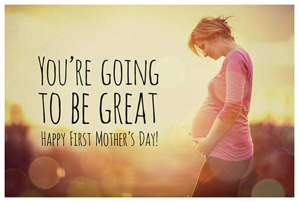 First Mothers Day Messages Image