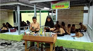 desain Area Baca Sekolah