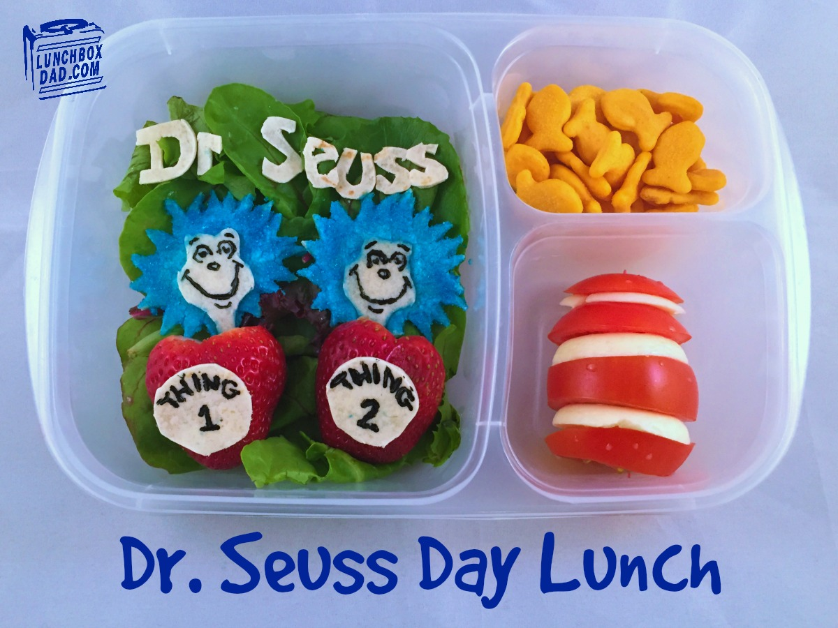 Dr Seuss Day Lunch Cat in the Hat