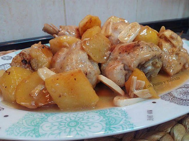 Pollo al ajillo cocina fácil