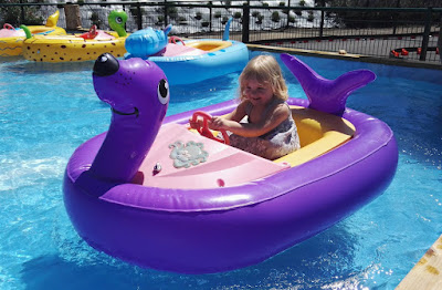 Sea lion boat at Polhill Garden Centre