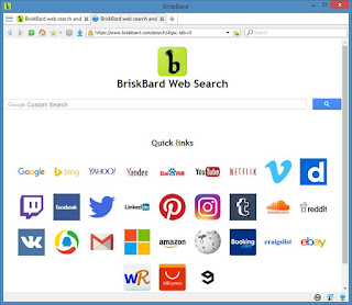 برنامج, تصفح, انترنت, شامل, متعدد, الاستخدام, للكمبيوتر, BriskBard