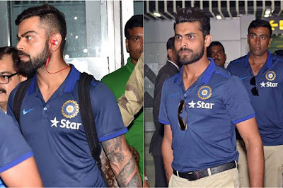 Indian Team Reaches Kolkata For 2nd Test