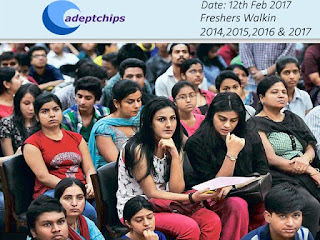 Freshers Walkins 2017, Mega Walkin Drive 2014, 2015, 2016, 2017 Freshers