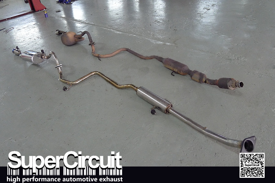 SUPERCIRCUIT Exhaust Pro Shop: Toyota Vios NCP93 Exhaust