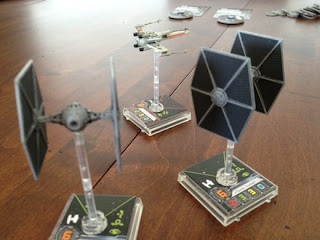Star Wars game TIE Fighter Minis