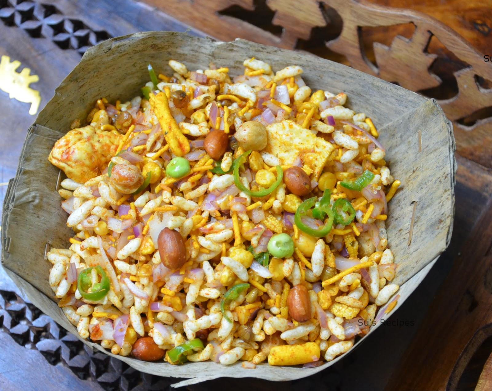 Su S Recipes Jhal Muri Kolkata Style