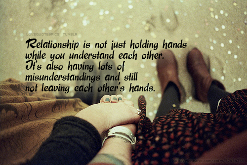Relationship Is Not Just Holding Hands Love Quotes And Love Sayings