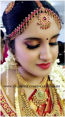 Maalica's bridal look