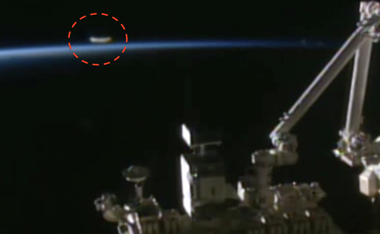 UFO SIGHTINGS DAILY: UFO Matches Speed With Space Station ...
