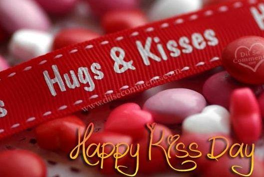 kiss day images quotes