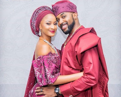 Banky W and Adesua Etomi hold coded thanksgiving, reception party in London (Video)