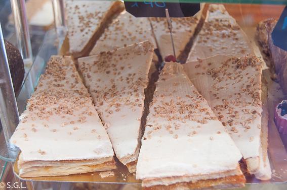 Jesuita. Dulces tipicos de Bilbao