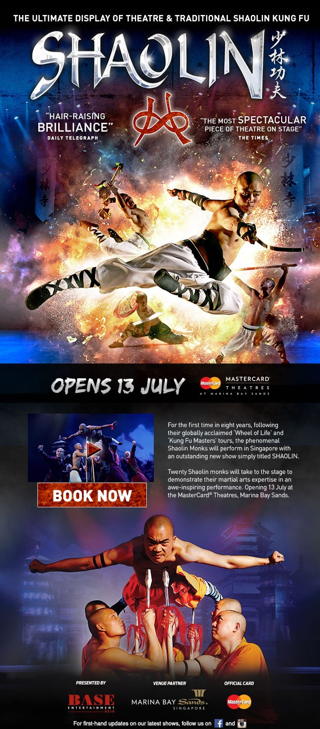 http://entertainment.marinabaysands.com/events/shaolin0716