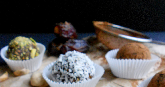 Confessions of a Confectionista: Pistachio Date Truffles # ...