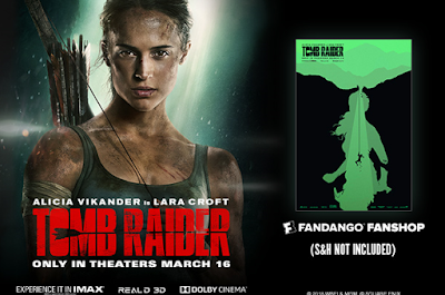 """TOMB RAIDER"" HITS THEATERS NEAR YOU!"