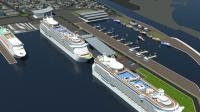 Presentazione del Porto Commerciale a Fiumicino