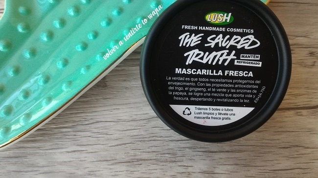 Mascarillas Frescas de Lush -  The Sacred Truth