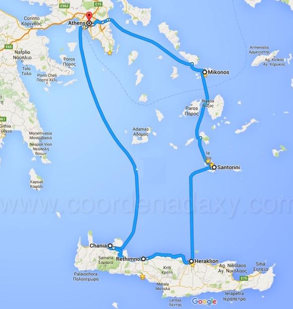 Roteiro de 2 semanas na Grécia (14 dias)
