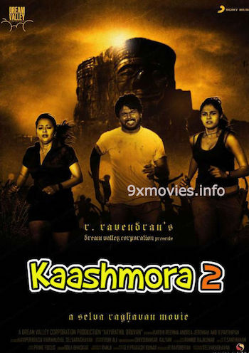 Kaashmora 2 (2017) Hindi Dubbed 480p HDRip 350mb