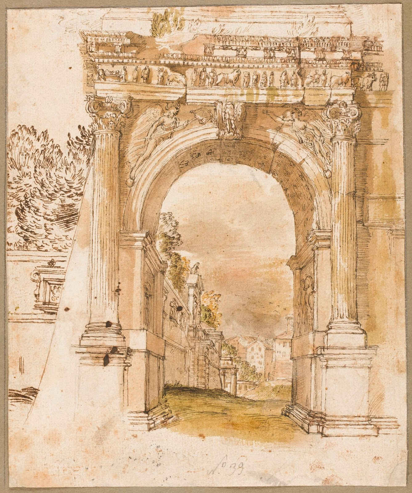 Roman Architecture: Spencer Alley: European Images Of Roman Arches, 17th-19th
