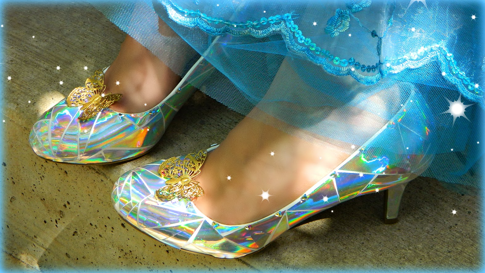 045a8498f A wearable glass slipper! The original from the latest Cinderella movie