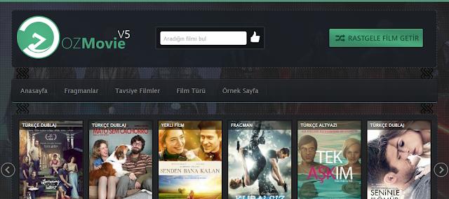 OzMovie V5 Ücretsiz Responsive Wordpress Film Teması İndir