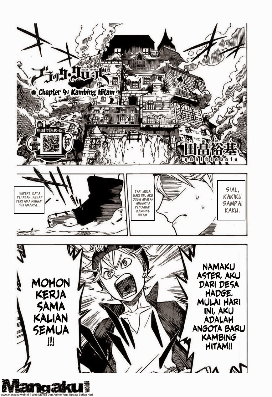 Black Clover Chapter 4 Bahasa Indonesia
