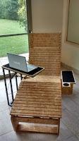 Sillón relax con bandeja y mesa para PC