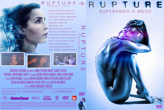 Capa DVD Rupture Superando O Medo [Exclusiva]