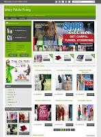 template online shop