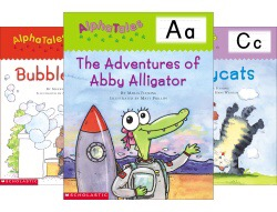 using alphabet tales book