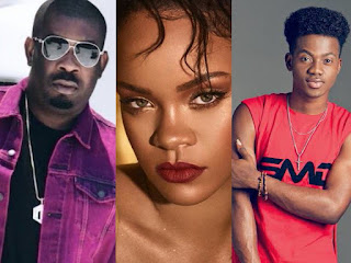 Don Jazzy, Rihanna and Korede Bello