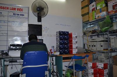 Phòng kỹ thuật công ty Cộng Lực