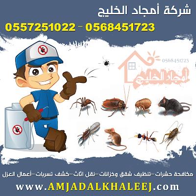 شركة ابادة حشرات ورش مبيدات بالمدينة المنورة 0568451723