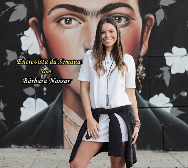 Entrevista com Bárbara Nassar