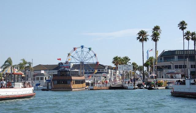 Praia Balboa Beach em Anaheim