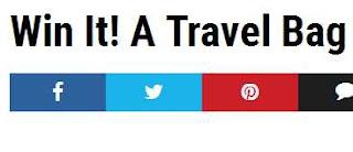 USA November Sweepstakes, Win Travel Luggage