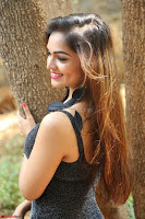 Aswini in lovely Deep Neck Sleeveless Black Dress Spicy Pics ~  Exclusive 57.JPG