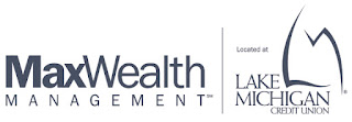 maxwealth management located at Lake michigan credit union logo